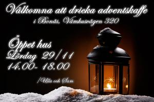 Adventskaffe 2014
