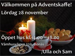 Adventskaffe 2015